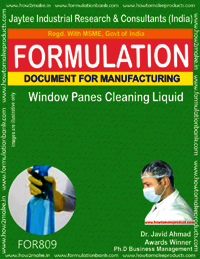 Window Panes Cleaning Liquid