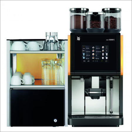 WMF 5000S Fully Automatic Coffee Machine with Cooler