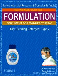 Dry Cleaning Liquid Detergent type 2