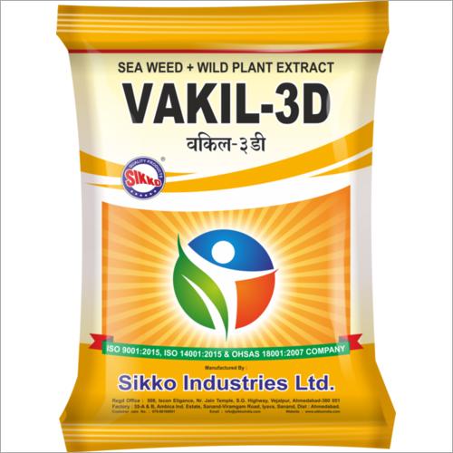 Vakil-3D (Herbal Pesticide+Fungicide+Bio Stimulant)