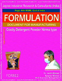 Costly Detergent Powder Formulation Nirma type