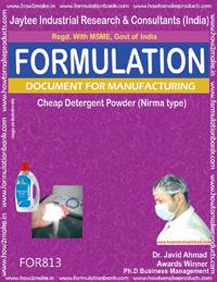 Cheap Detergent Powder Formulation Nirma type