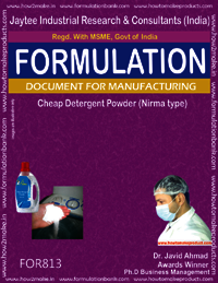 Cheap Detergent Powder Formulation Nirma type