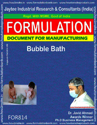 Bubble Bath Formulation