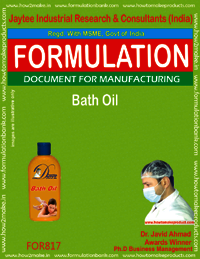 Bath Oil Formulation