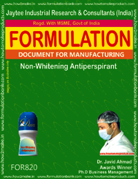 Non Whitening Antiperspirant Formulation