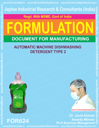 Dish Wash & Utensil Cleaner Formuations