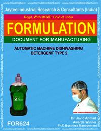 Automatic Machine Dishwashing Detergent Type 2