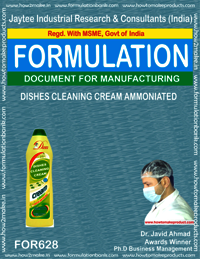 Dishes Cleaning Cream Ammonited