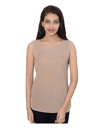 Tri Pleated top