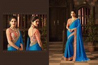 Sober Work Silk Saree