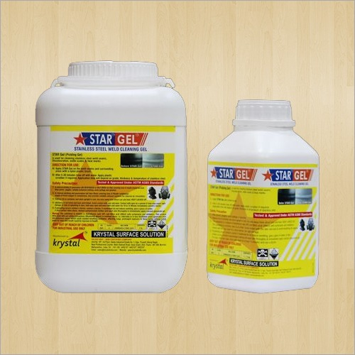 Stainless Steel Weld Cleaning Gel