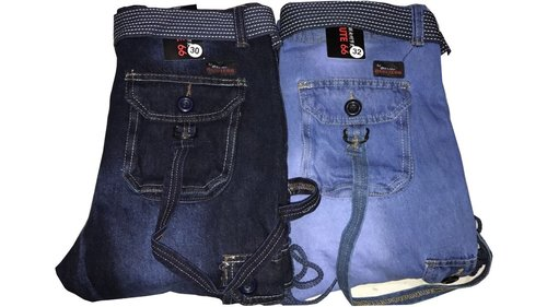 Denim Casual Trousers