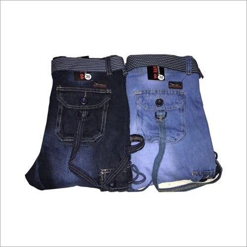 Denim Casual Cargos