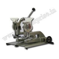 Eyelet Double Punch Machine