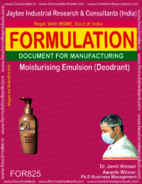 Moisturizing Emulsion Deodorant Formulation