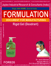 Rigid Gel Deodrant Formulation