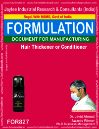 Hair Thickener or Conditioner Formulation