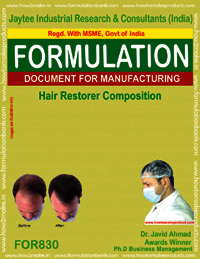 Hair Restoration Composition Formulation
