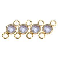 Rainbow Moonstone Connectors
