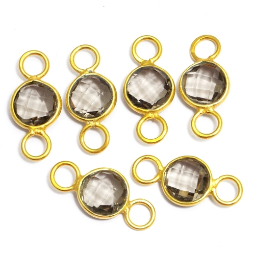 Crystal Quartz Gold Plated Connector