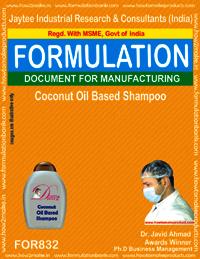 Coconut Oil Based Shampoo