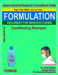 Formulation of Conditioning Shampoo