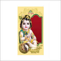 Traditional Birthday Invitation Card