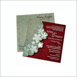 Ring Ceremony Invitation Card