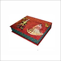 Printed Wedding Card Box