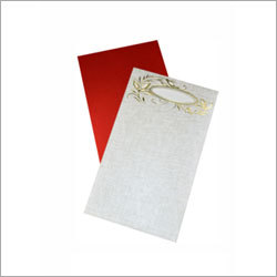 Plain Wedding Card