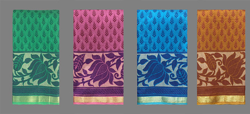 Cotton Saree Self Design
