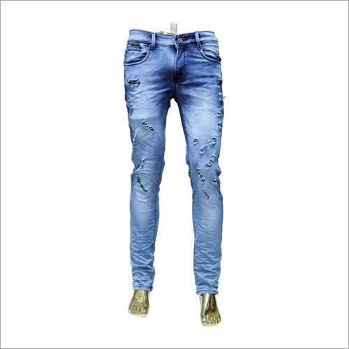 Mens Fancy Ripped Jeans