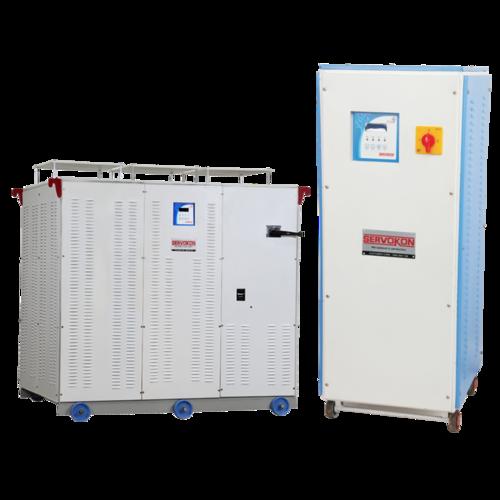 3 Phase Variac Type Servo Stabilizer - Air Cooled