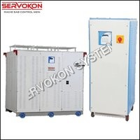 Three Phase Variac Type Servo Stabilizer - Air Cooled