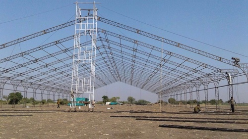 Dome structure Errection With H frame