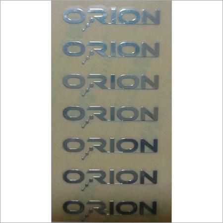 Metal Cut Sticker