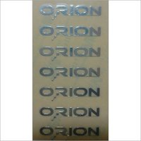 Metal Cut Sticker