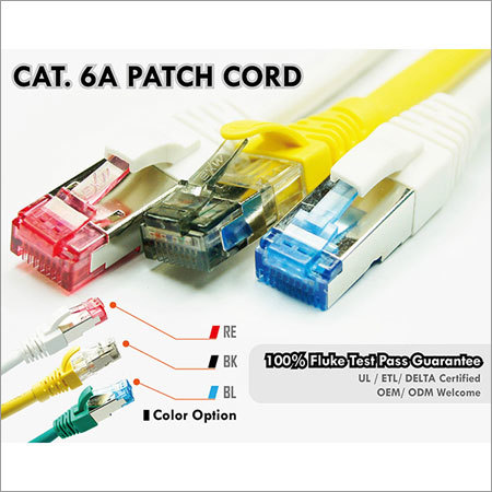CAT.6A UTP Patch Cord