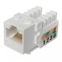 Cat5e KeyCat5E UTP 90Degree 110 Punch Down Keystone Jackstone Jack