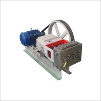 High Pressure Triplex Pump - H60 Model