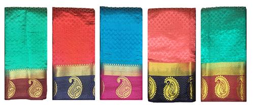 Silk Golden Zari Work Saree