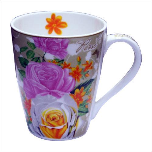 Floral Pattern Mugs
