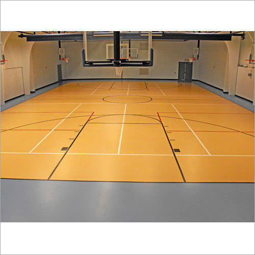 Indoor Basketball Flooring