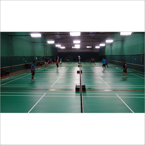 Synthetic Badminton Wooden Court Flooring