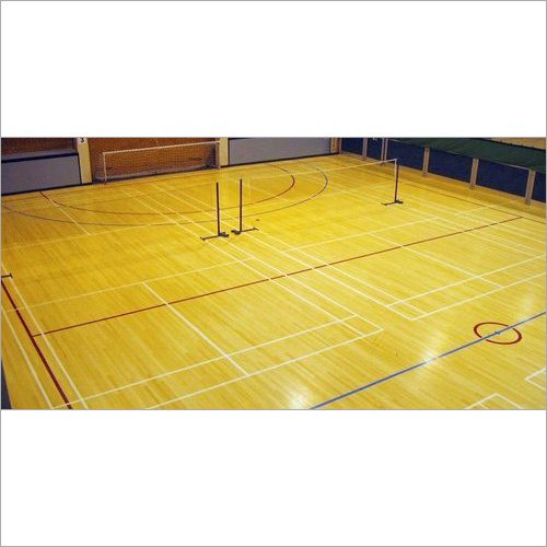 Synthetic Wooden Court Flooring