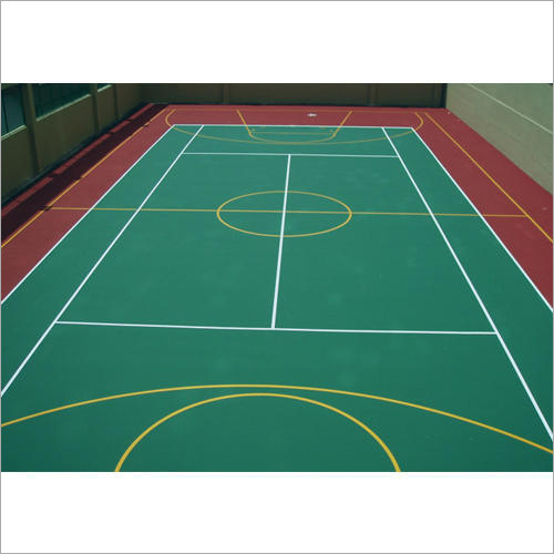 Acrylic Synthetic Basketball Flooring