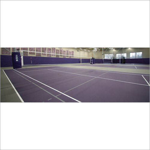 Badminton Surface Construction