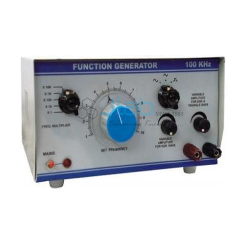 A.F. Oscillator Function Generator Cum Digital