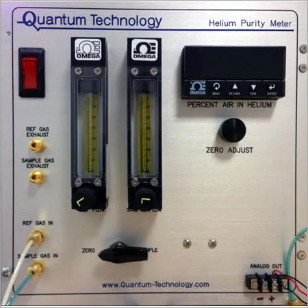 CO2 and Helium Gas Purity Tester